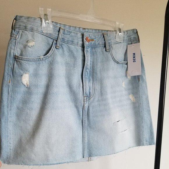 H&M Denim Skirt NWT